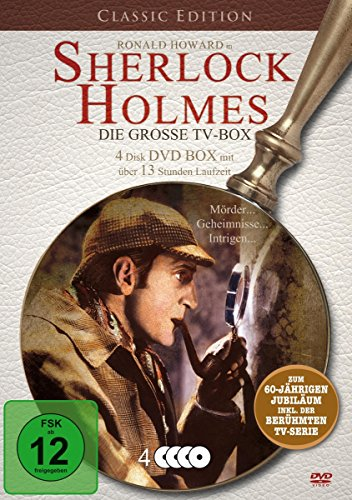 Sherlock Holmes Die große TV-Box (21 Folgen) (4 DVDs)