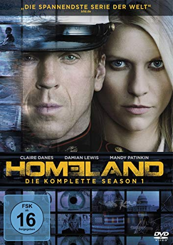 Homeland Season 1 (4 DVDs)