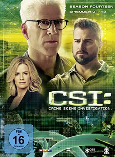 CSI Season 14 / Box-Set 1 (3 DVDs)