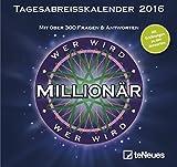 Wer wird Millionär 2016 - Tagesabreisskalender