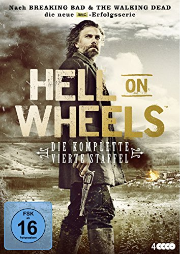 Hell on Wheels Staffel 4 (4 DVDs)