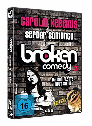 Carolin Kebekus & Serdar Somuncu präsentieren: Broken Comedy - Die komplette Kultshow (4 DVDs)