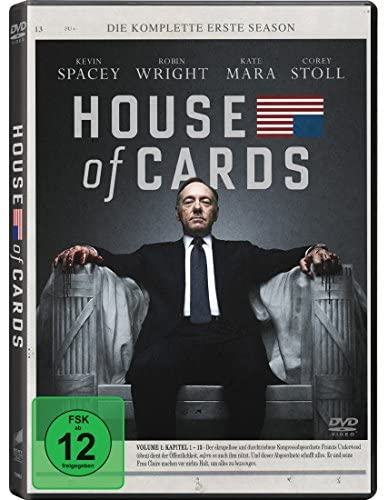 House of Cards Staffel 1 (4 DVDs)