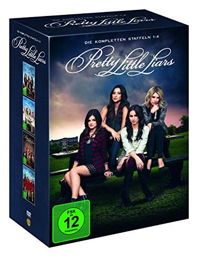 Pretty Little Liars Staffel 1-4 (Limited Edition) (22 DVDs)