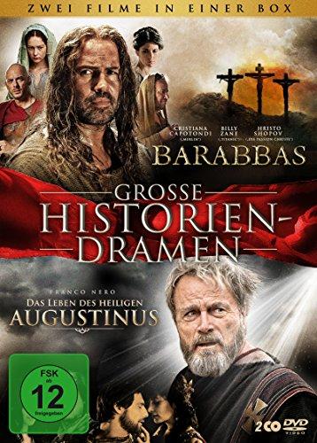 Barabbas / Das Leben des heiligen Augustinus (2 DVDs)