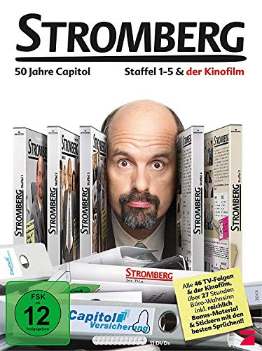 Stromberg Box - Staffel 1-5+Film (11 DVDs)