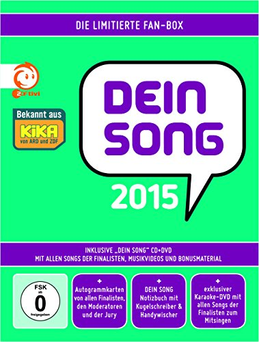 Dein Song 2015 - Die limitierte Fan-Box (CD + DVD)