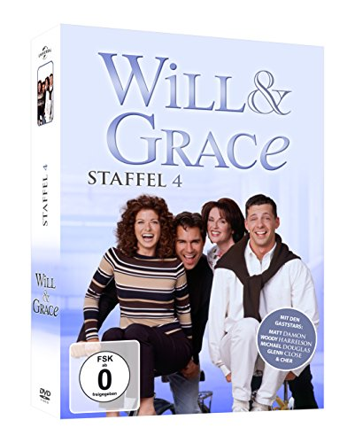 Will & Grace Staffel 4 (4 DVDs)