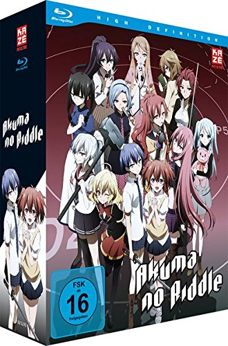 Akuma no Riddle Vol. 1 (+ Sammelschuber) [Blu-ray]