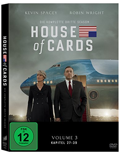 House of Cards Staffel 3 (4 DVDs)