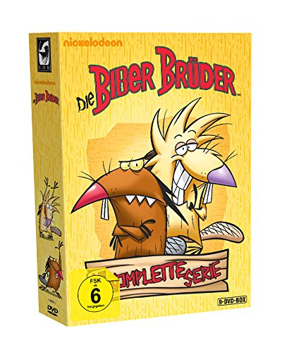 Die Biber Brüder Die komplette Serie (9 DVDs)