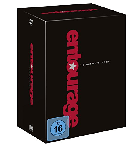 Entourage Die komplette Serie (Staffel 1-8) (Limited Edition) (33 DVDs)