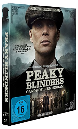 Peaky Blinders - Gangs of Birmingham: Staffel 1+2 [Blu-ray]