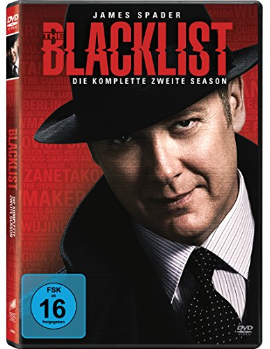 The Blacklist Staffel 2 (5 DVDs)