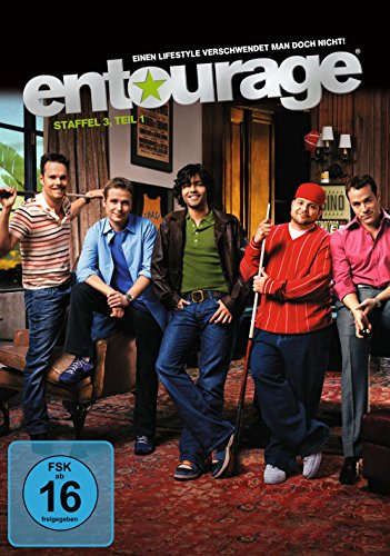 Entourage Staffel 3/Teil 1 (3 DVDs)