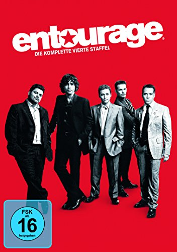 Entourage Staffel 4 (4 DVDs)