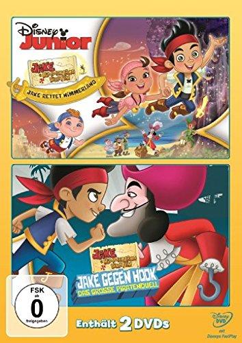 Jake und die Nimmerland Piraten Jake rettet Nimmerland/Jake gegen Hook: Das große Piratenduell (2 DVDs)