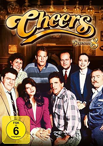 Cheers Season  8 (4 DVDs)