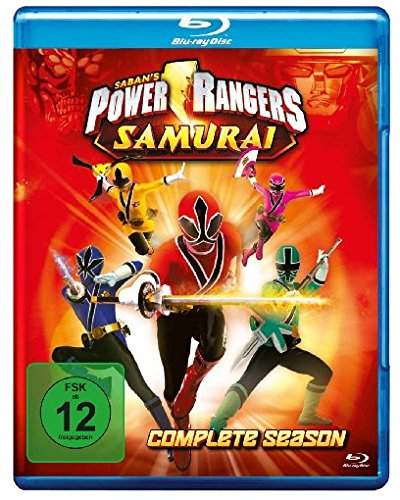 Power Rangers Samurai Complete Season [Blu-ray]