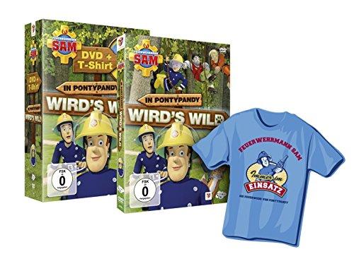 Feuerwehrmann Sam In Pontypandy wird's wild (Special Edition inkl. T-Shirt) (exklusiv bei Amazon.de)