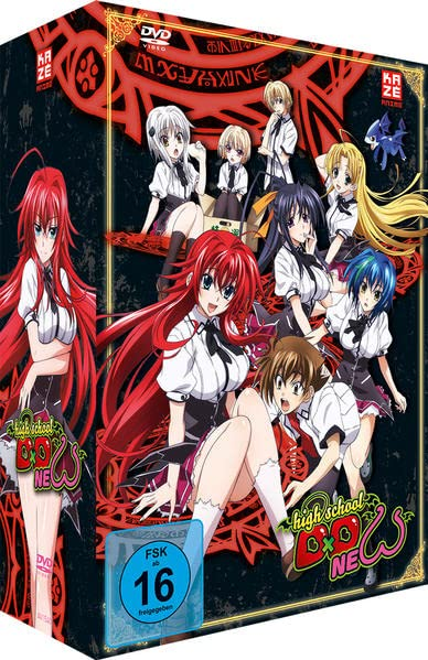 Highschool DxD New - Vol. 1 (mit Sammelschuber)
