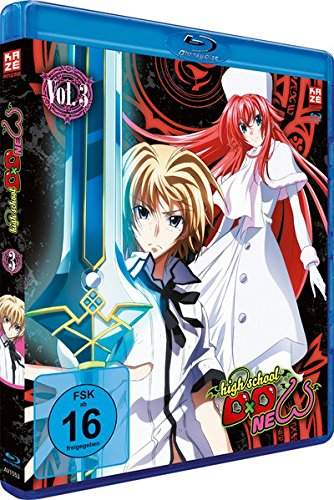 Highschool DxD New - Vol. 3 [Blu-ray]