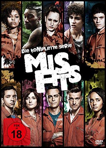 Misfits Die komplette Serie (13 DVDs)