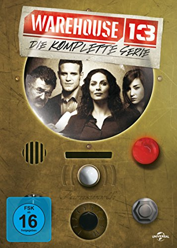 Warehouse 13 Die komplette Serie (16 DVDs)
