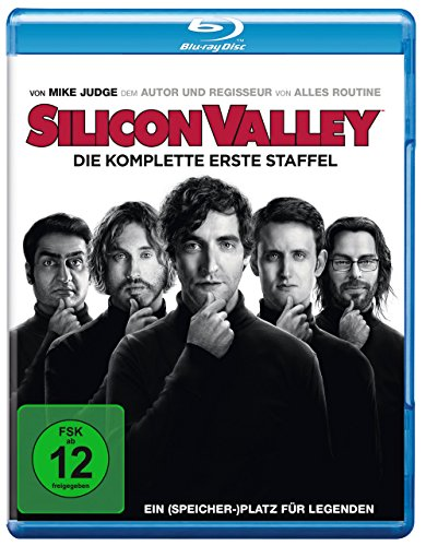 Silicon Valley Staffel 1 [Blu-ray]