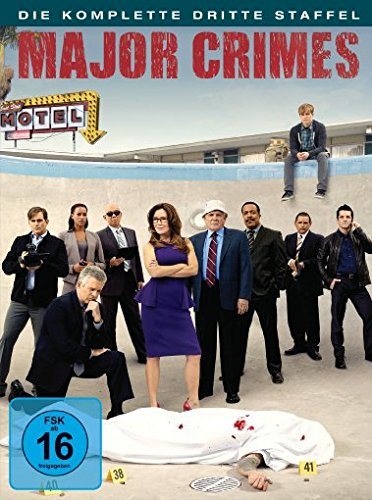 Major Crimes Staffel 3 (4 DVDs)