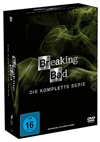 Breaking Bad Die komplette Serie (Digistack und Schuber) (21 DVDs)