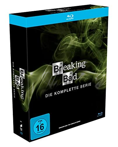 Breaking Bad Die komplette Serie (Digistack und Schuber) [Blu-ray]