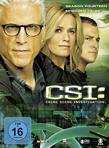 CSI Season 14 / Box-Set 2 (3 DVDs)
