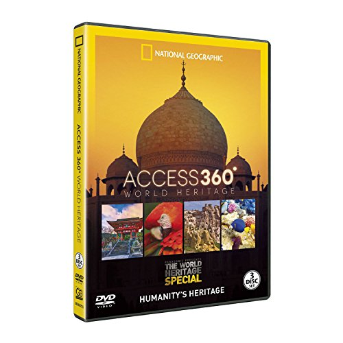 Access 360° World Heritage 3 DVDs