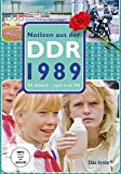 Notizen aus der DDR - DDR 1989