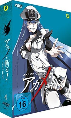 Akame ga Kill Vol. 4 (Limited Edition) (2 DVDs)