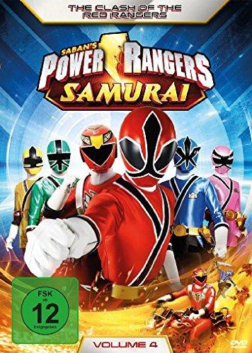 Power Rangers Samurai Vol. 4: The Clash of the Red Rangers
