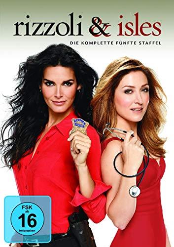 Rizzoli & Isles Staffel 5 (4 DVDs)