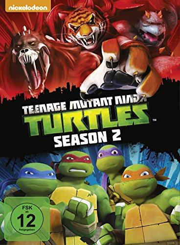 Teenage Mutant Ninja Turtles Season 2 (4 DVDs)