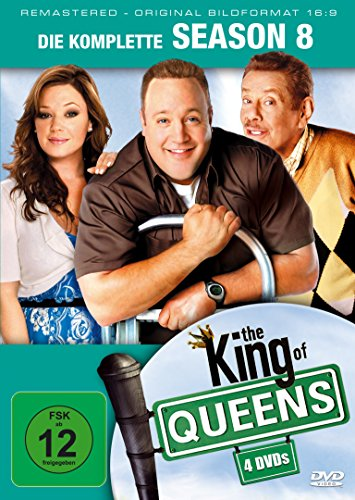 King of Queens Staffel 8 (Remastered) (4 DVDs)