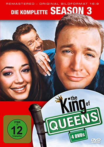 King of Queens Staffel 3 (Remastered) (4 DVDs)