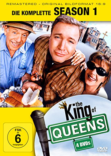 King of Queens Staffel 1 (Remastered) (4 DVDs)