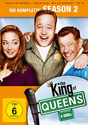 King of Queens Staffel 2 (Remastered) (4 DVDs)
