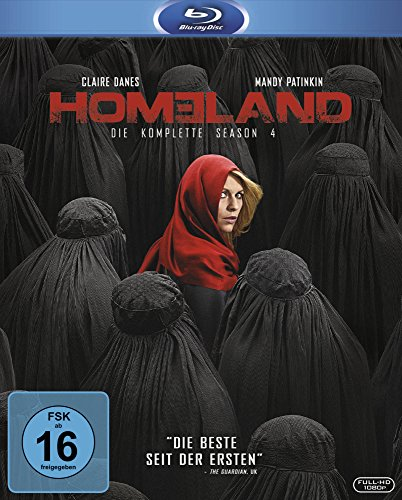 Homeland Season 4 [Blu-ray]