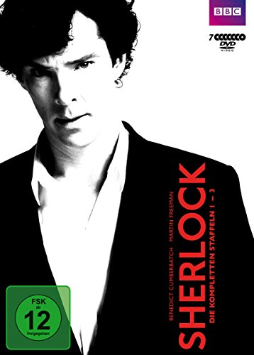 Sherlock Staffel 1-3 (7 DVDs)