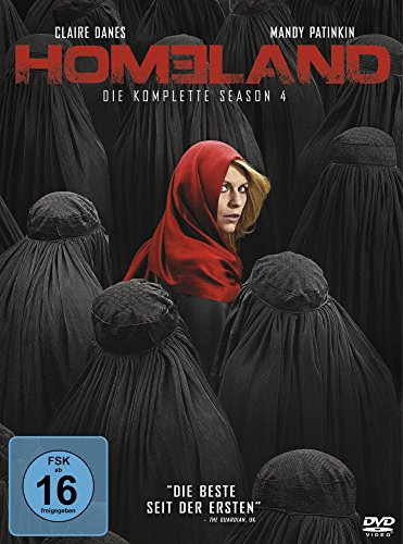 Homeland Season 4 (4 DVDs)