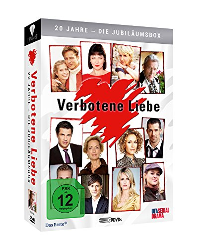Verbotene Liebe 20 Jahre: Die Jubiläumsbox (9 DVDs)