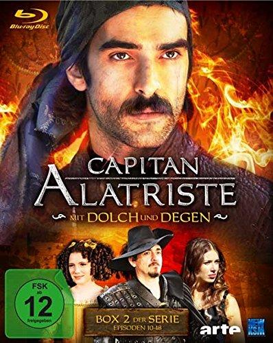 Capitan Alatriste Mit Dolch und Degen - Box 2 (Folge 10-18) [Blu-ray]