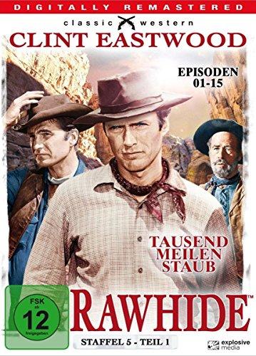 Rawhide Tausend Meilen Staub - Season 5.1 (4 DVDs)