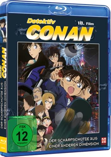 Detektiv Conan 18. Film: Der Scharfschütze aus einer anderen Dimension [Blu-ray]